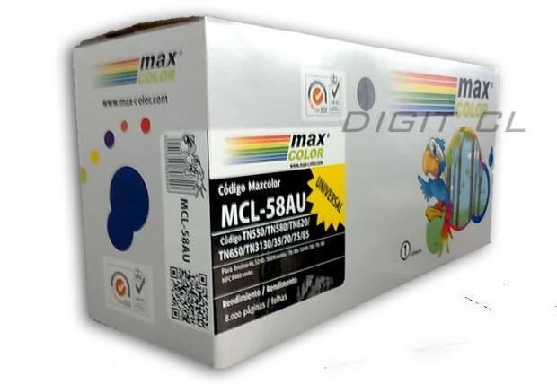 TONER 65AU TN-620 TN-650 BROTHER TN-580 COMPATIBLE
