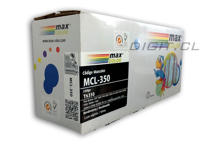 TONER TN-350 BROTHER COMPATIBLE