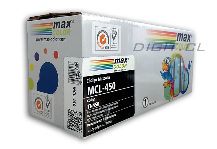 TONER TN-450 BROTHER COMPATIBLE