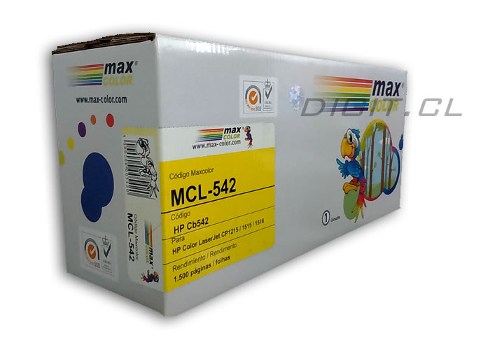 TONER 125A YELLOW HP COMPATIBLE